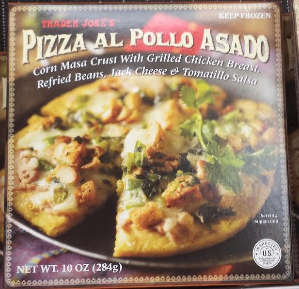 Trader Joe's Pizza Al Pollo Asado
