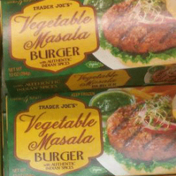 Trader Joe's Vegetable Masala Burger