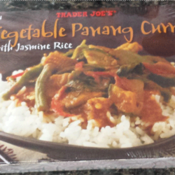 Trader Joe's Vegetable Panang Curry