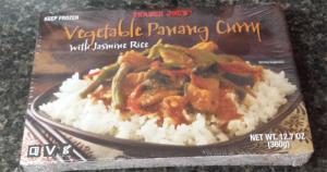 Trader Joe's Vegetable Panang Curry