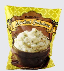 Trader Joe's Frozen Mashed Potatoes