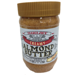 Trader Joe's Creamy Salted Almond Butter