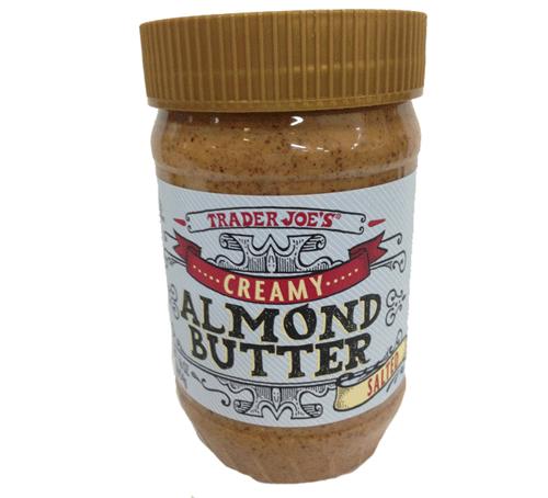 Trader Joe's Creamy Salted Almond Butter