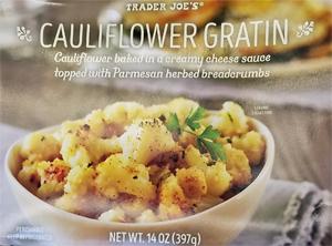 Trader Joe's Cauliflower Gratin