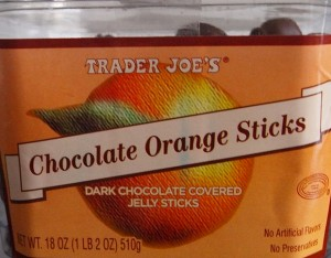 Trader Joe's Chocolate Orange Sticks