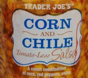 Trader Joe's Corn and Chile Salsa