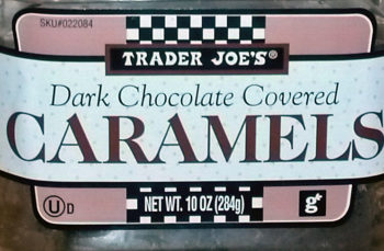 Trader Joe's Dark Chocolate Covered