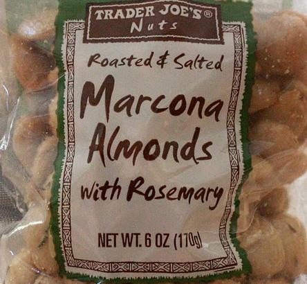 Trader Joe's Marcona Almonds with Rosemary