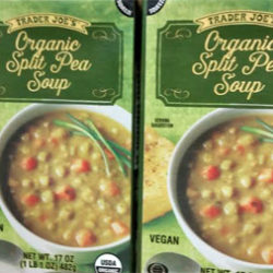 Trader Joe's Organic Split Pea Soup