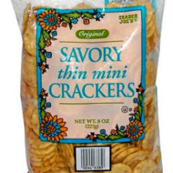 Trader Joe's Savory Thin Mini Crackers