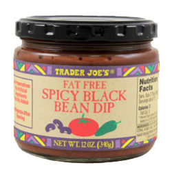 Trader Joe's Spicy Black Bean Dip