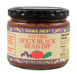 Trader Joe's Spicy Black Bean Dip
