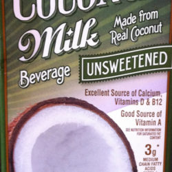 Trader Joe's Unsweetened Coconut Milk Beverage