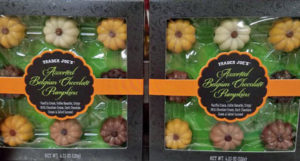 Trader Joe's Assorted Belgian Chocolate Pumpkins