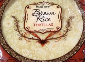Trader Joe's Brown Rice Tortillas