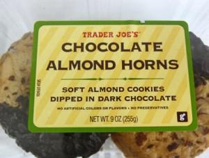 Trader Joe's Chocolate Almond Horns