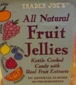 Trader Joe's Fruit Jellies