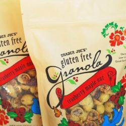 Trader Joe's Gluten-Free Cranberry Maple Nut Granola