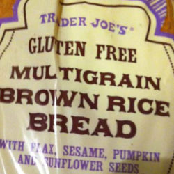 Trader Joe's Gluten-Free Multigrain Brown Rice Bread