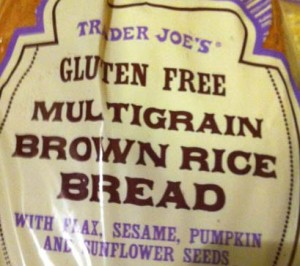Trader Joe's Gluten-Free Multigrain Brown Rice Bread
