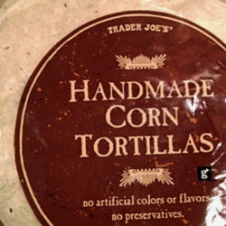 Trader Joe's Handmade Corn Tortillas