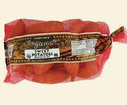 Trader Joe's Organic Sweet Potatoes