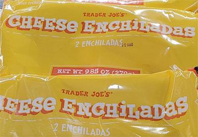 Frozen Cheese Enchiladas