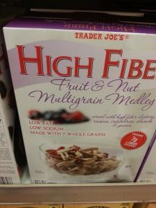 Trader Joe's High Fiber Fruit & Nut Multigrain Medley