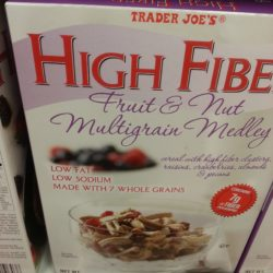 Trader Joe's High Fiber Fruit & Nut Multigrain Medley