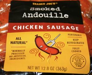 Trader Joe's Chicken Andouille Sausage