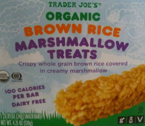Trader Joe's Organic Brown Rice Marshmallow Treats