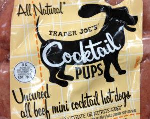 Trader Joe's Cocktail Pups