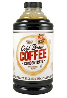 Trader Joe's Cold Brew Coffee