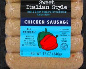Trader Joe's Sweet Italian Chicken Sausage