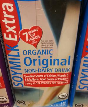 Trader Joe's Organic Original Soy Milk Extra