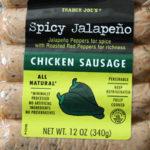 Trader Joe's Spicy Jalapeño Chicken Sausage