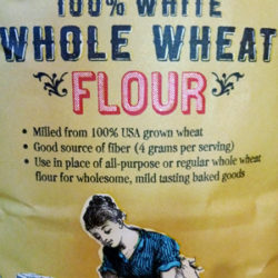 Trader Joe's 100% White Whole Wheat Flour