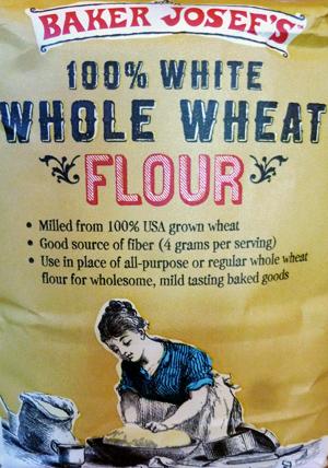 Trader Joe's 100% White Whole Wheat Flour