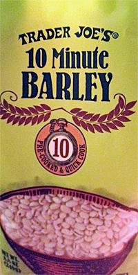 Trader Joe's 10 Minute Barley