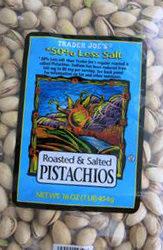 Trader Joe's 50% Less Salt Roasted & Salted Pistachios