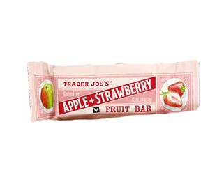 Trader Joe's Apple Strawberry Fruit Bar