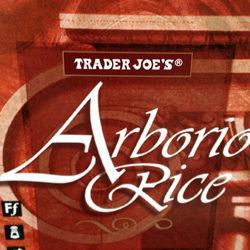 Trader Joe's Arborio Rice