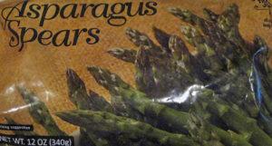 Trader Joe's Frozen Asparagus Spears