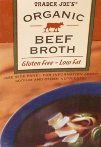 Trader Joe's Organic Beef Broth
