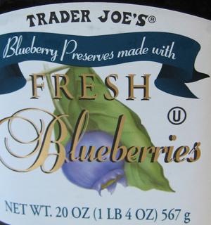 Trader Joe's Blueberry Preserves