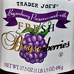 Trader Joe's Boysenberry Preserves