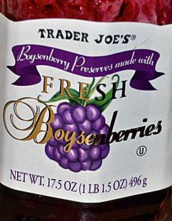 Trader Joe's Boysenberry Preserves