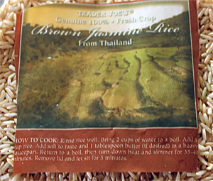 Trader Joe's Brown Jasmine Rice