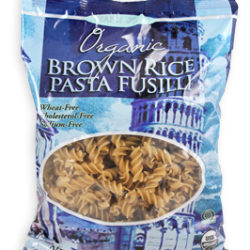 Trader Joe's Organic Brown Rice Pasta Fusilli