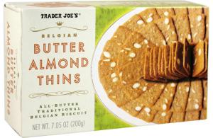 Trader Joe's Butter Almond Thins